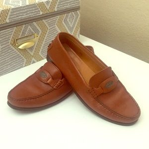 TODS Italy leather loafers